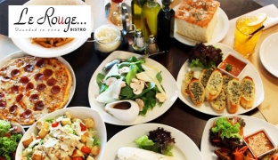 French & Italian Cuisine From The Menu