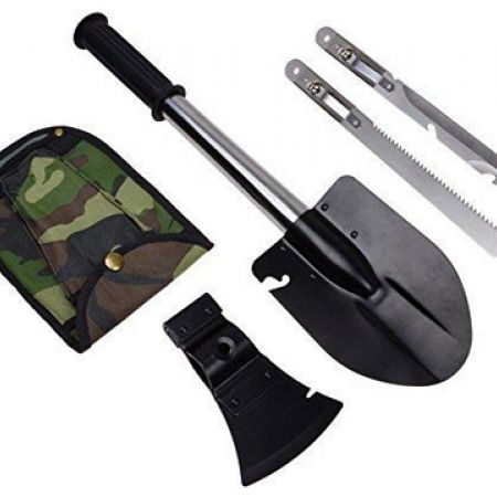 4 In 1 Ultimate Survival Emergency Camping Tools With Pouch