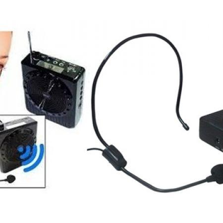 Multi-Function SlingBand Loudspeaker MegaPhone With Lapel Mic