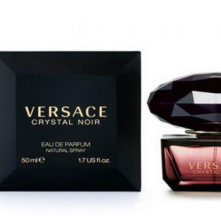 Women 50 Crystal Parfum Ml Noir For Eau Versace De l13JTFKc
