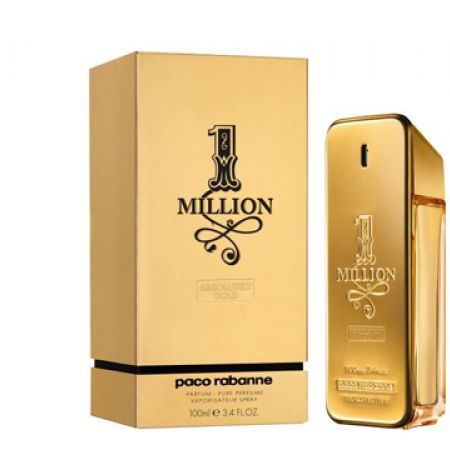 Paco Rabanne 1 Million Absolutely Gold Eau De Parfum For Men 100 ml