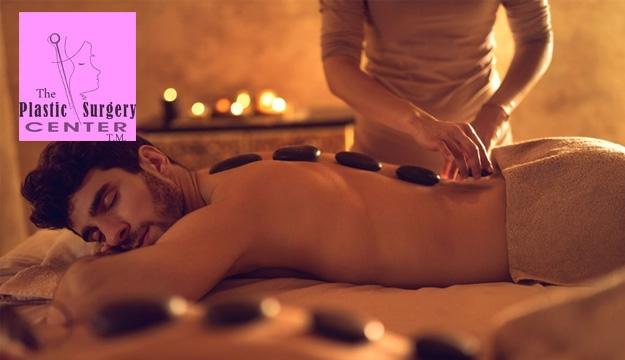 60 min. Massage & Facial Package For Men