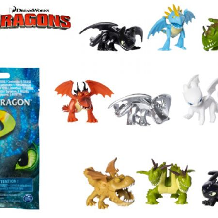 Spin Master Dreamworks Dragon How to Train Your Dragon Mystery Dragon