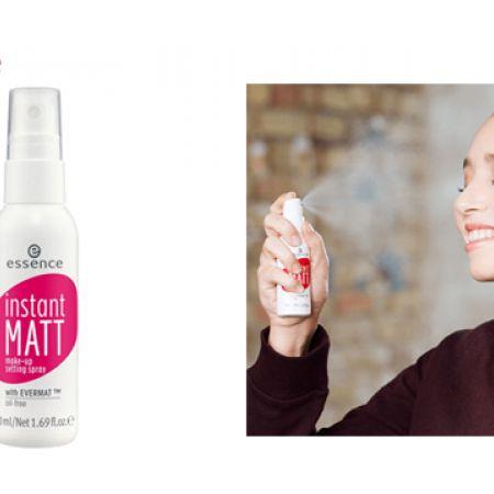 Essence Instant Matt Make-up Setting Spray 50 ml
