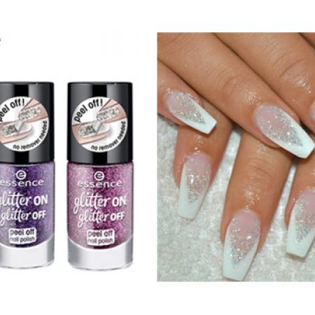 Essence Glitter On Glitter Off Peel Off Nail Polish - 02 Razzle Dazzle