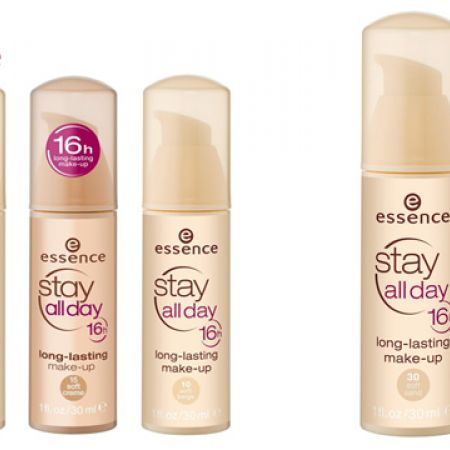 Essence Stay All day 16h Make-up Foundation - 10 Soft Beige