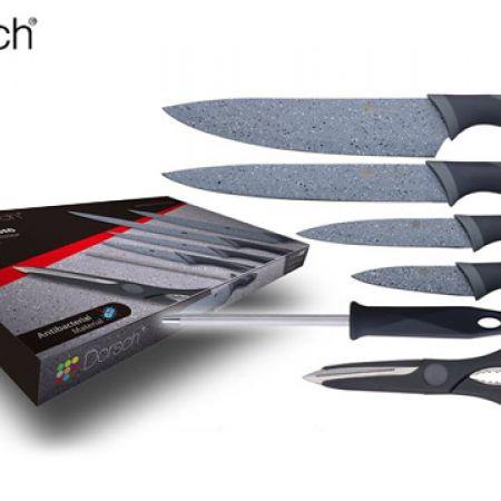 Dorsch Set Of Marble K-Knife Set 6 Pcs