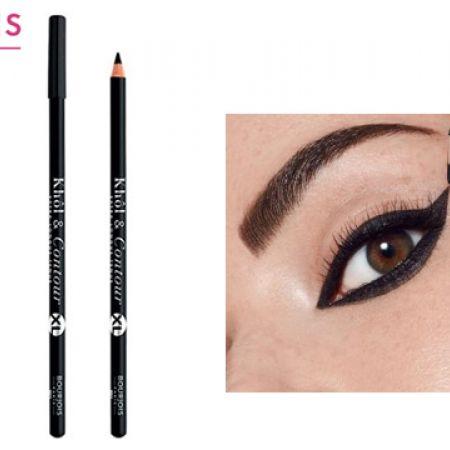 Bourjois Khol & Contour XL Eye Pencil 001 Noir Issime