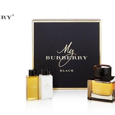 a823121f23ef Burberry My Burberry Black 3 Pcs Gift Set EDP 90ml