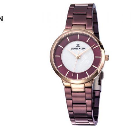 Daniel Klein DK11887-5 Stainless Steel Brown Premium Watch For Women