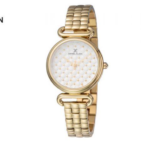 Daniel Klein DK11882-5 Stainless Steel Gold Premium Watch For Women