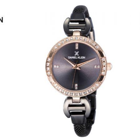 Daniel Klein DK11803-6 Mesh Silver Premium Watch For Women