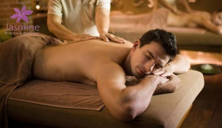 90 min. Massage Package With Hot Stones, Hot Towel & Facial