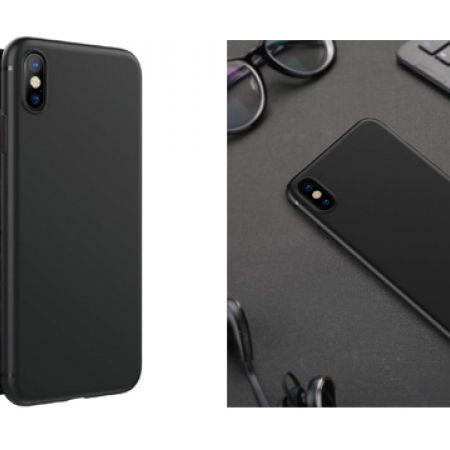 Hoco Matte Black Slim TPU Phone Cases For iPhone - iPhone X
