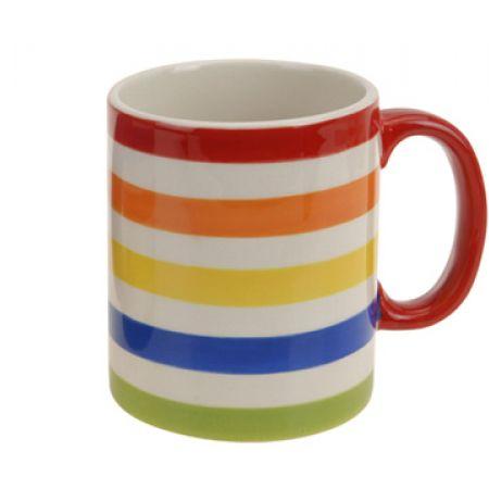 Colorful Cute Ceramic Dolomite Mug 12 x 8 x 10 cm