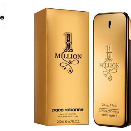 Paco Rabanne 1 Million Eau De Toilette For Men 200 ml