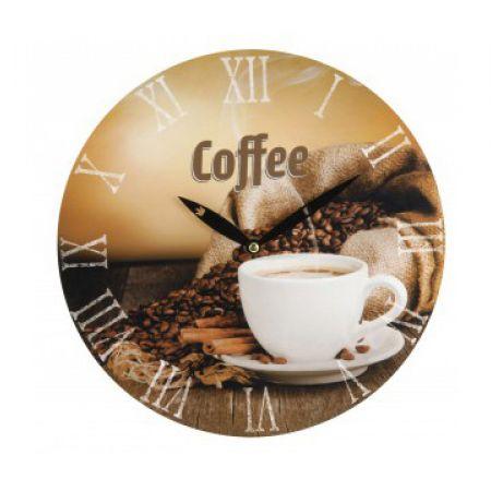 Wall Clock Coffee Design 28 cm