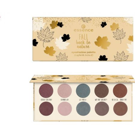 Essence Fall Back To Nature Eyeshadow Palette 01 I Love Fall Most Of All