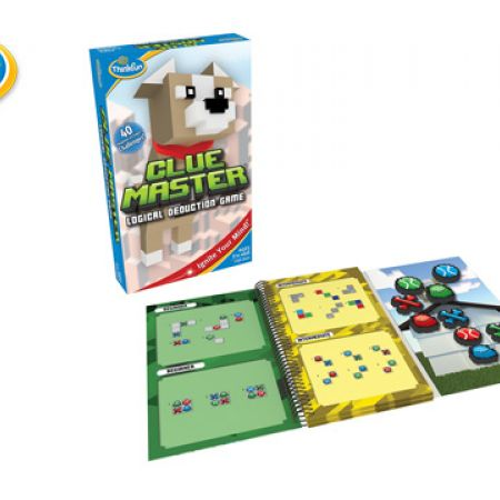 Think Fun Clue Master Logical Deduction Game