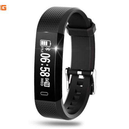 Riversong Act HR Black Fitness Activity Tracker Watch