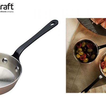KitchenCraft Artesa Copper Tri-ply Mini Fry Pan 12 cm