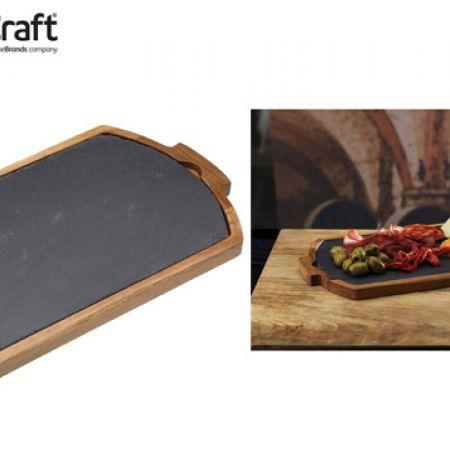 KitchenCraft Artesa Combination Serving Board & Tray 39 x 22 cm