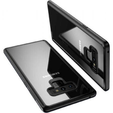 Usams Ultra Slim Thin Bumper Frame Clear Case For Samsung Galaxy Note 9