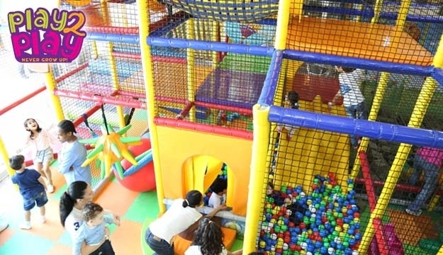 50 Off Playground Entrance With Kids Meal From Appletown