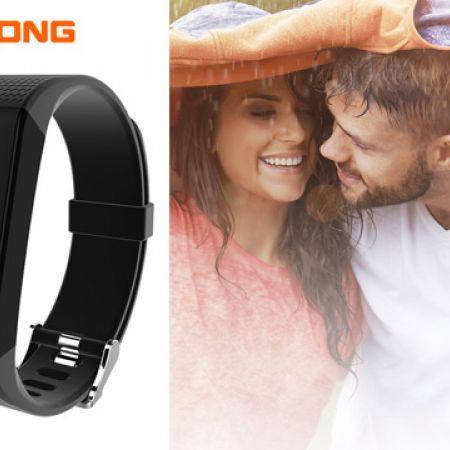 Riversong Wave O2 Black Smart Watch