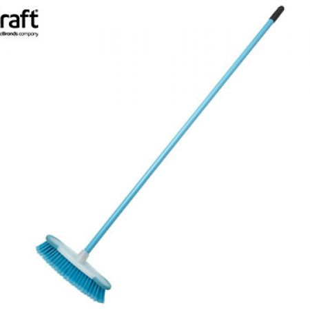 KitchenCraft Colourworks Blue Sweeping Broom 130 cm