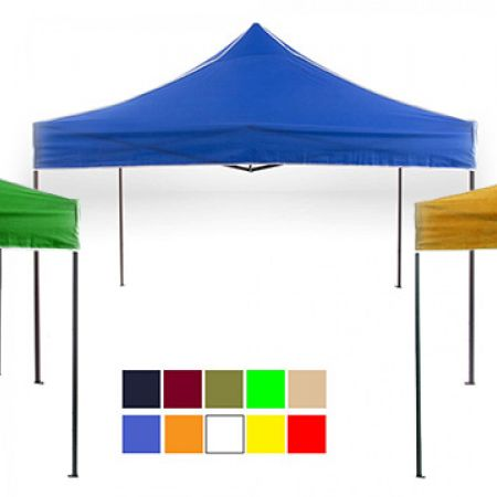 Impact Portable Pop Up Canopy Tent 3 x 3 m - Burgundy