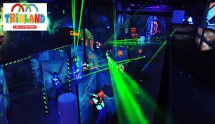 One Laser Tag Ticket & One VR Game Ticket
