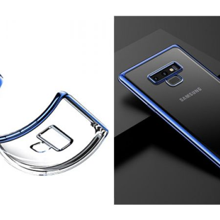 Baseus Platting Ultra Thin Soft TPU Case For Samsung Galaxy Note 9 - Black