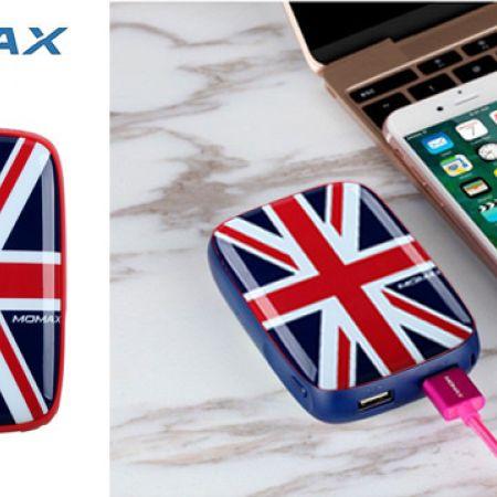 Momax iPower Art London Dual USB External Battery Pack 9000 mAh