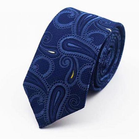Special Design Blue Tie