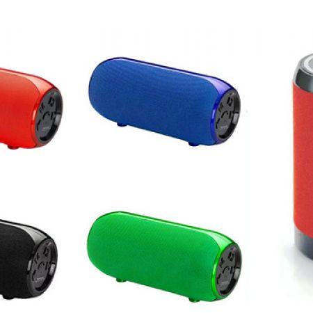 Multi-Purpose Wster WS-1603 Bluetooth Portable Speaker - Black
