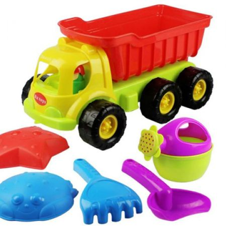 Truck Sand Beach Toys 6 Pcs