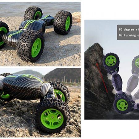 Hyper Tumble Ultimate Telecontrol Car Double-Side RC Cross Country 2.4 G Climbing Land Cruiser Remote Control Vehicle