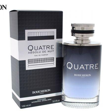 Boucheron Quatre Absolu De Nuit Eau de Parfum for Men - 100 ml