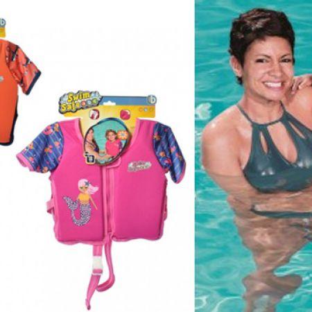 Bestway Step B Swim Life Vest - Pink