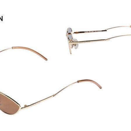 016b92a95fe0 Daniel Klein DK-4267 Trendy Brown Polarized Cateye Shade Fade Sunglasses  For Women