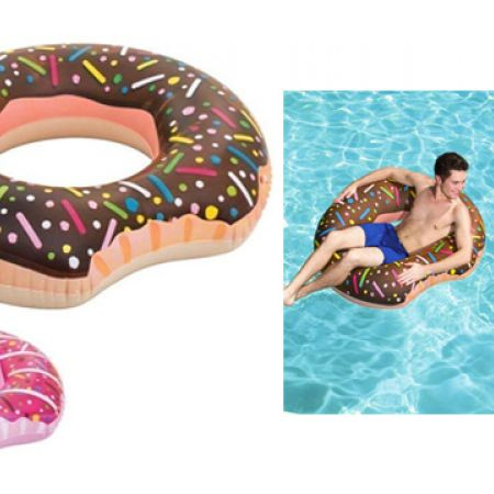Bestway Inflatable Cute Sweet Donut Swim Ring 107 cm - Pink