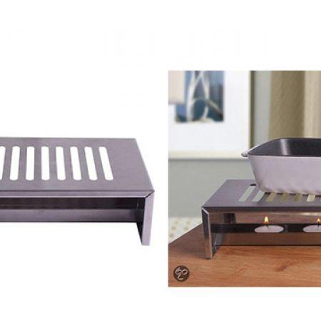 Stainless Steel Kitchen Rechaud 26 x 15 x 6.5 cm