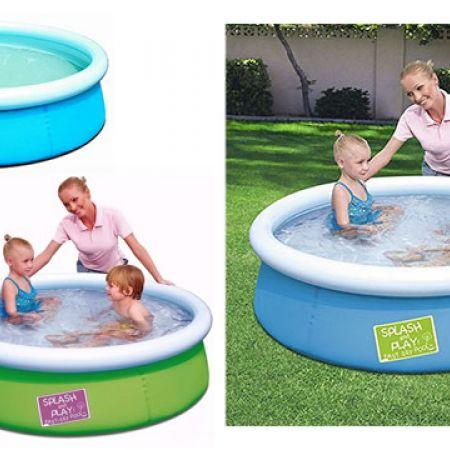 Bestway Inflatable Splash & Play My First Fast Set Pool 152 x 38 cm - Blue