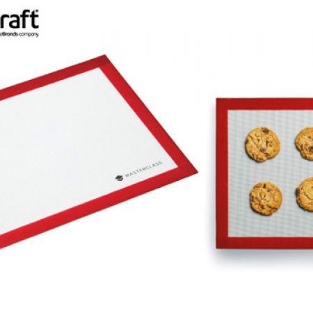 KitchenCraft MasterClass Large Flexible Non-Stick Silicone Baking Mat 40 x 30 cm