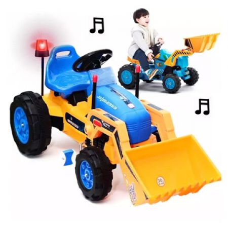 Tractor Excavator With Shovel, Lights and Sound Pedal 90 x 50 x 60 cm