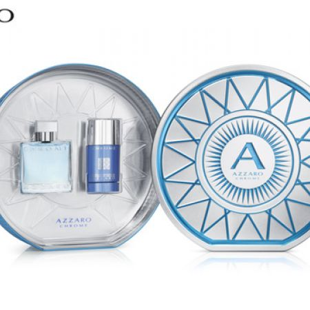 Azzaro Chrome 2 Pcs Gift Set EDT 50 ml & Deodorant 75 ml For Men