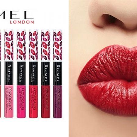 Rimmel Provocalips 16Hr Kissproof Lip Colour Gloss - 310 Little Mix