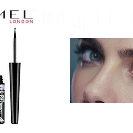 3315eddbd61 Rimmel Scandaleyes Bold Liquid Eyeliner 001 Black