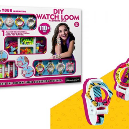 Do-It-Yourself Watch 3 In 1 DIY Watch Loom